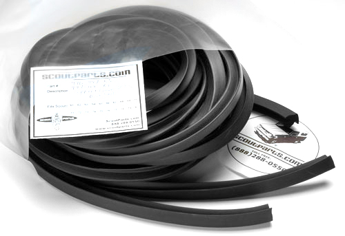 Door Edge Weatherstrip Seal For 1939-1948 Buick.